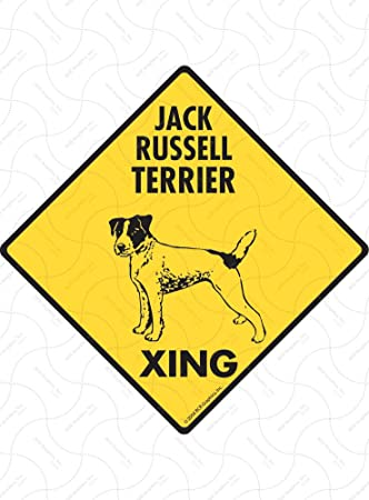 Parson Russell Terrier  STREET SIGN ~ High Quality Alum