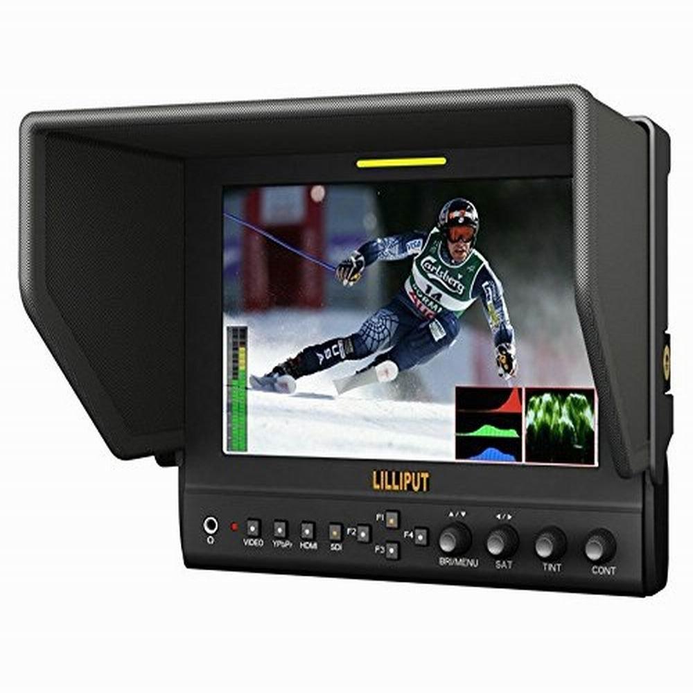 高い品質 Lilliput 663/P2 7インチ 16:9 16:9 LED BNC) モニター B01MUBLEQ1 HDMI  YPbPr (via BNC) DSLR カメラ用 デジタル一眼レフ 1280×800の解像度 400cd/m2 800:1【並行輸入品】 B01MUBLEQ1, Wonder Land:425b01be --- a0267596.xsph.ru