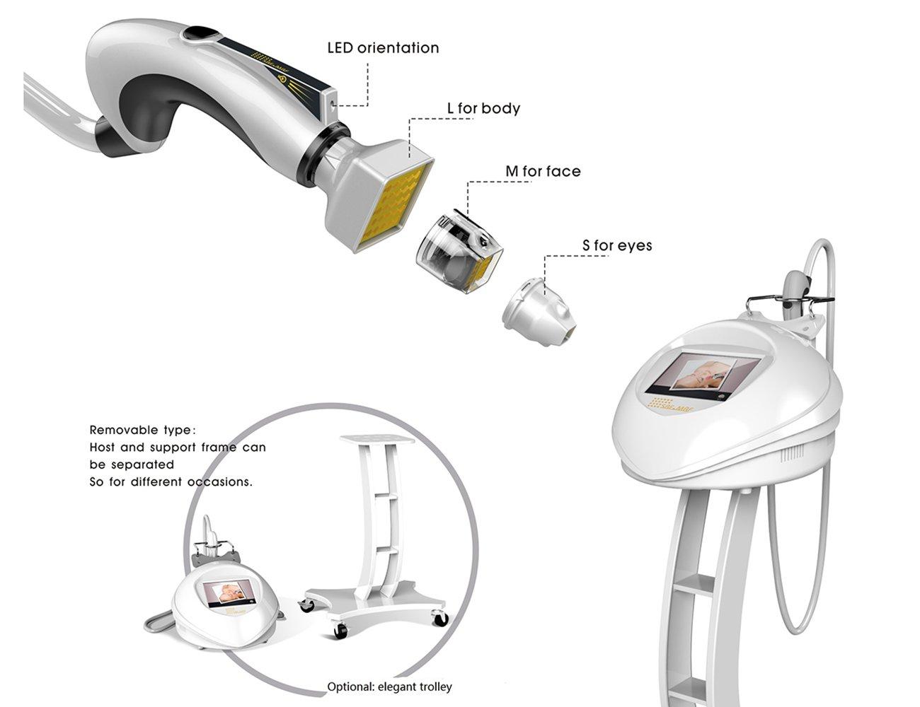 Gesichtspflege Schönheits Maschine RF gebrochene Hautstraffung und ...