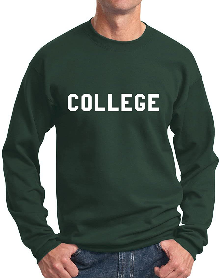 New York Fashion Police College Sweatshirt - Belushi Bluto Tribute 70s Comedy Crewneck