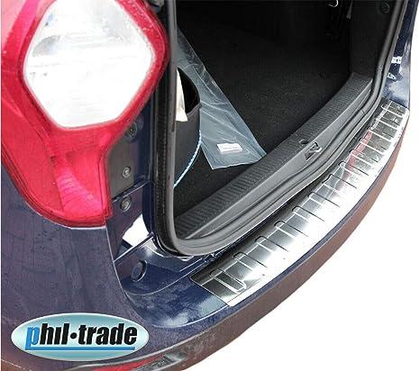 Recambo Ct Lks 1090 Ladekantenschutz Edelstahl Poliert Für Dacia Lodgy Ab 2012 Mit Abkantung Large Auto