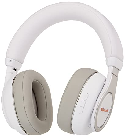 63ab8820d76 Amazon.com: Klipsch Reference Over-Ear Bluetooth Headphones (White):  Electronics