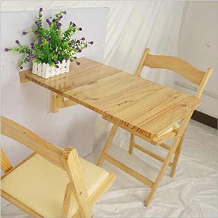 Tavolini MEIDUO Tavolo a muro a ribalta, tavolo pieghevole per ...