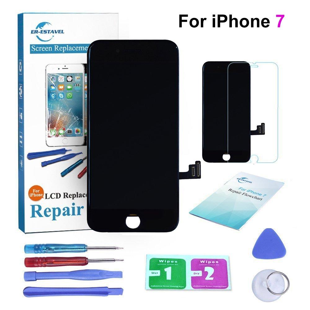 ER-ESTAVEL Bildschirm Compatible für iPhone 7: Amazon.de: Elektronik
