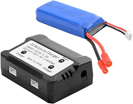 7.4 V 1 To 3 LiPo Batterie Balance Chargeur pour SYMA X8C X8W X8G