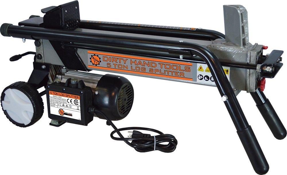 Dirty Hand Tools 100481, 5 Ton Electric Horizontal Log Splitter