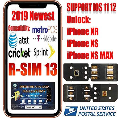 RONSHIN RSIM 13 Nano Unlock Sim Turbo Card fitsXS XS Max XR GPP R iOS 12 11  R 4G