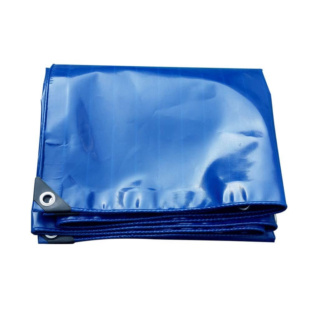 ターポリン防水厚い日焼け止め屋外布テントキャンバスプラスチックコーティング布 (サイズ さいず : 5X6M) B07K8KMR5K 5X6M  5X6M