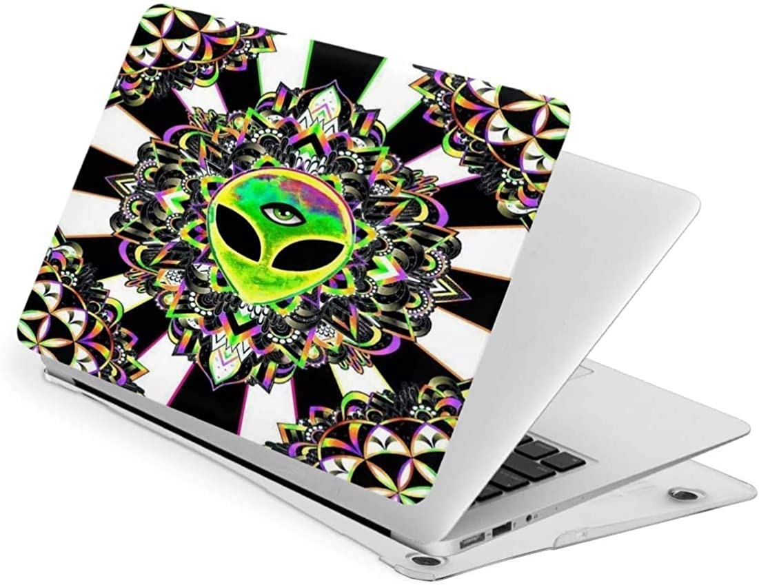 Laptop Case for MacBook Air13,Trippy Acid Alien The Third Eye Plastic Hard Shell Cases Cover for New Air13/Pro13/15—Macbook Pro 15