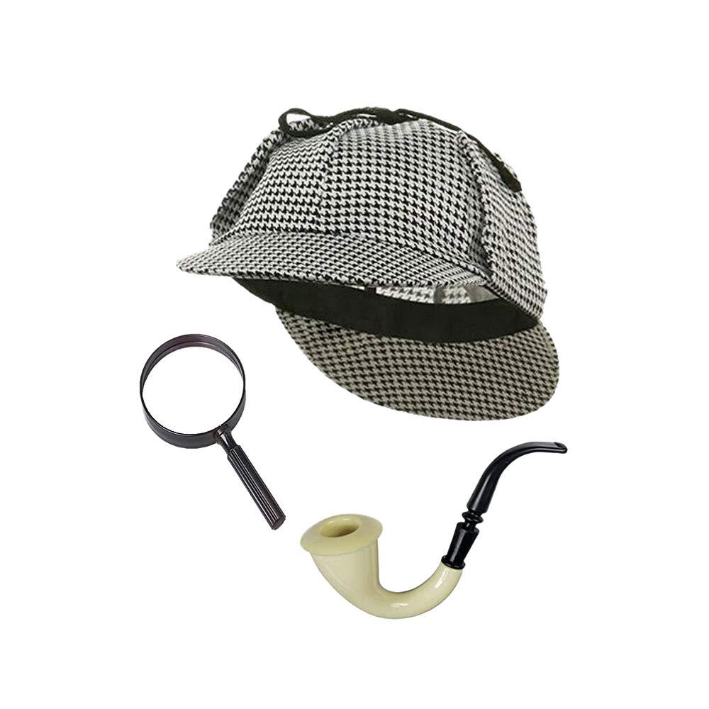 Forum Great Detective Costume Accessory Kit, Multi, One Size Forum Novelties Costumes 51332