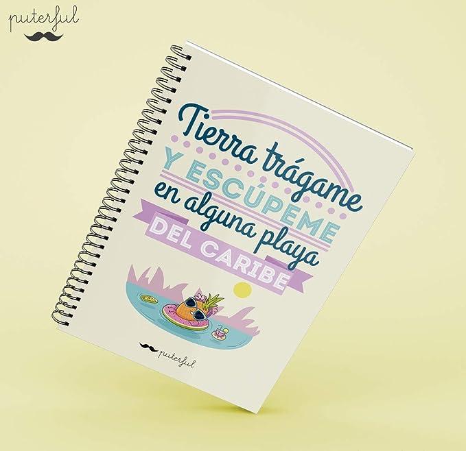 Puterful Cuaderno A4 Tierra trágame mr: Amazon.es: Juguetes ...