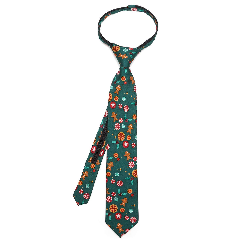 Officially Licensed Disney Nutcracker Green Peppermint Boys Tie
