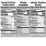 Smartfood Popcorn Variety Pack, 0.5 Ounce