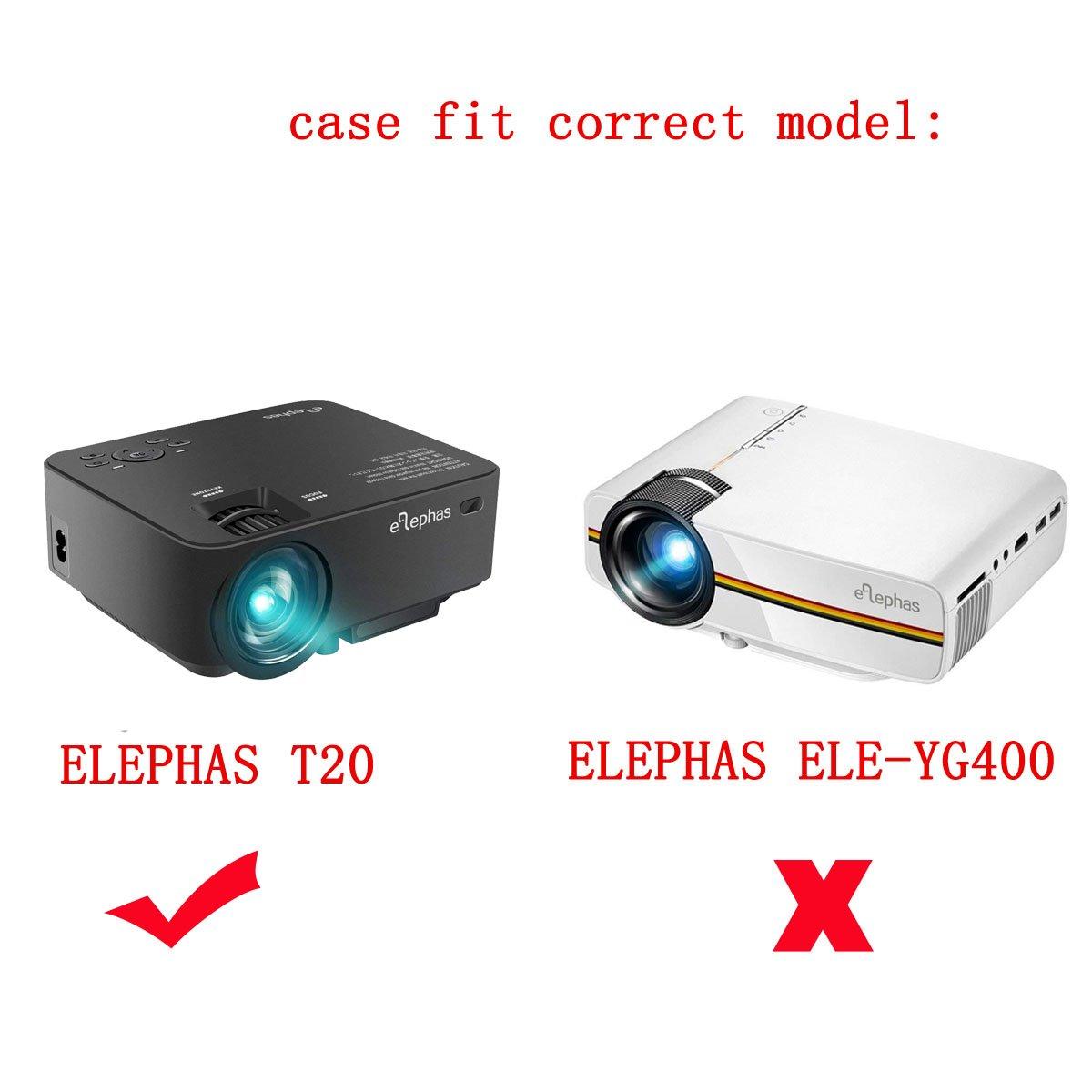 Para Elephas 1500 lúmenes LED Mini proyector de vídeo apoyo 1080P ...