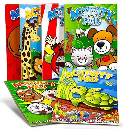 Activity Pad Assortment Party Accessory 1