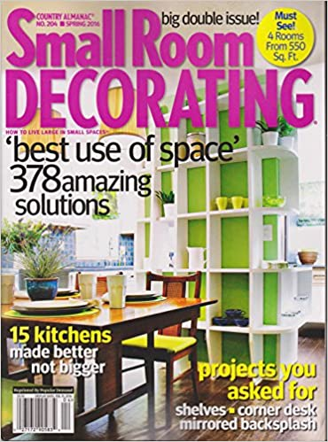Country Almanac Number 204 Spring 2016 Small Room Decorating ...