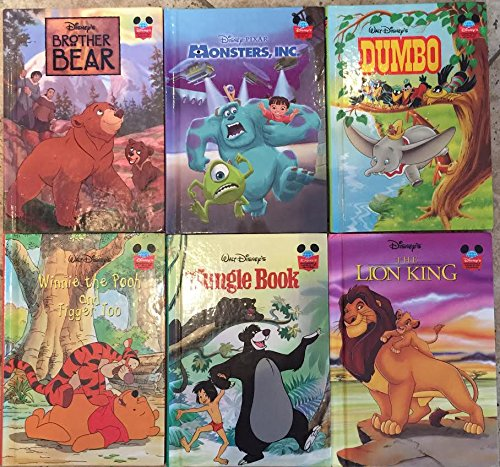 Disney's Bedtime Favorites-Collection of 6 Books