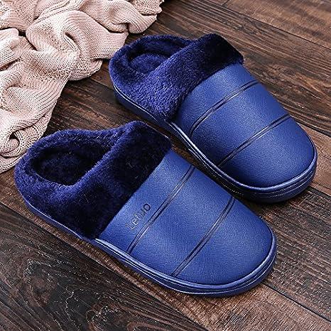 per pantofole IMPERMEABILE COTONE fondo Indoor inverno Y donna Hui wIUqTaxgX