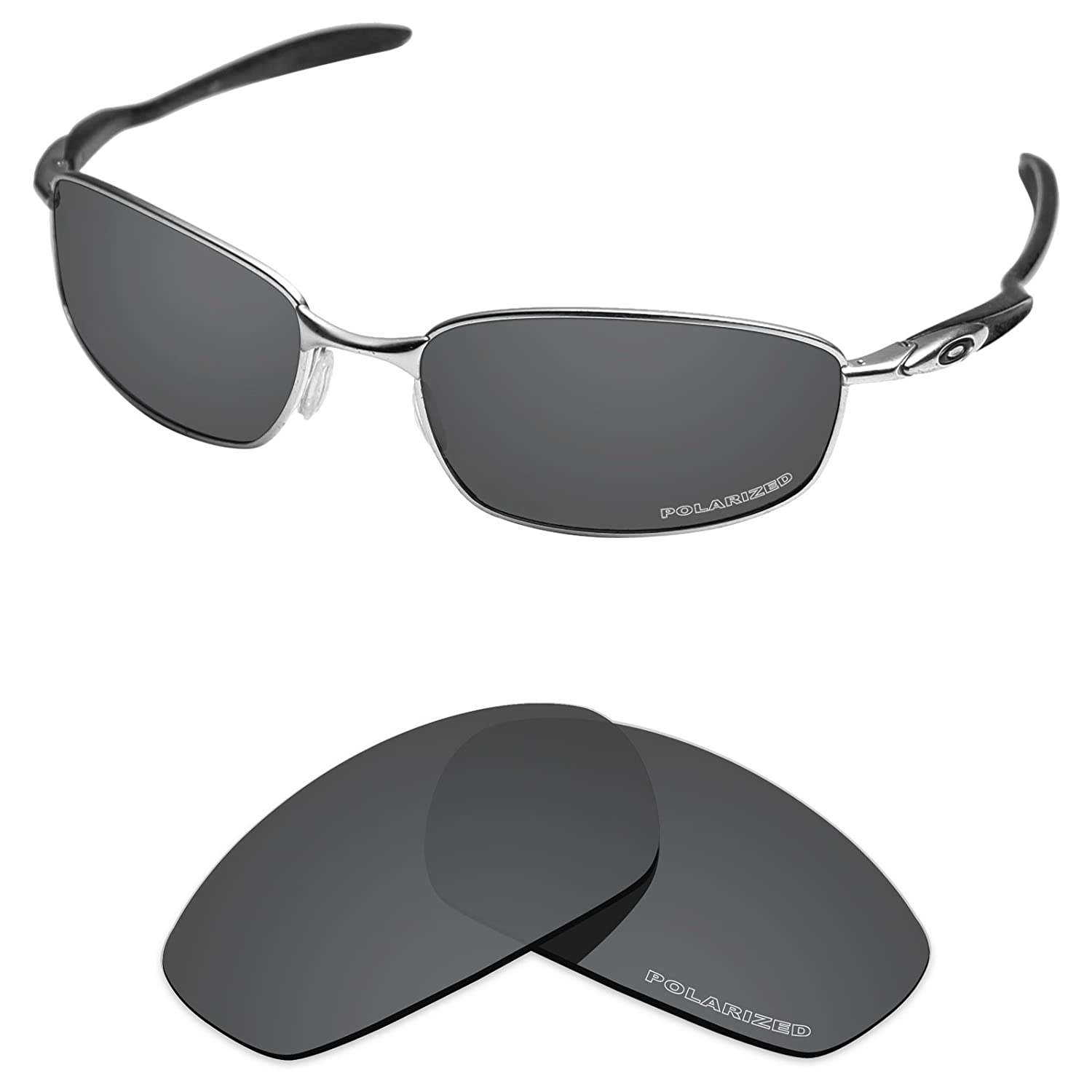 fbdcf82011 Oakley Blender Polarized Athletic Performance Sport Sunglasses One Size  Source · Amazon com Tintart Performance Lenses Compatible with Oakley