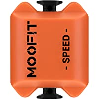 moofit Bike Speed Sensor, Bluetooth/ANT+ Cycling Speed Sensor for Wahoo/Zwift/Peloton/Rouvy/Cyclemeter, for iPhone…