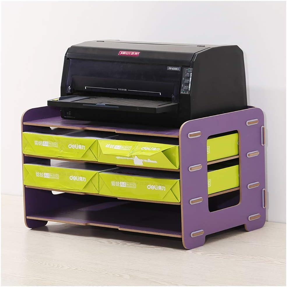 Size : #6 RRH-File Cabinet Creative Wooden Data Holder Office Data File Holder Desktop File Holder