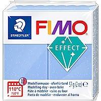 Fimo 8020-386 Effect Modelleme Kili, 57 Gr, Akik Mavi