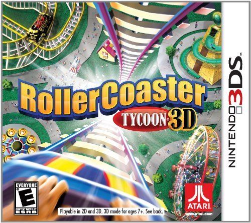 Rollercoaster Tycoon - Nintendo 3DS by - 3ds Roller Coaster