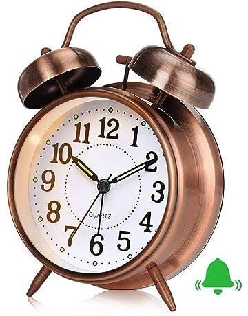 5.5 3.4cm Topdo 1pcs LED Horloge Num/érique pour Enfants /Étudiant Adolescent Adulte Silencieux Table De Chevet R/éveil sans Tic-Tac pour Bureau Voyage De Voyage 13.8