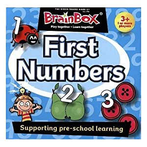Brainbox First Numbers Ingles, (31690071)