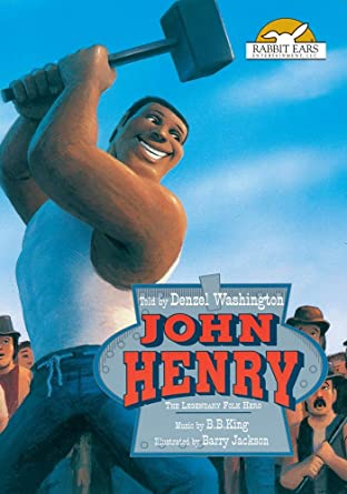 amazon co jp john henry told by denzel washington with music by