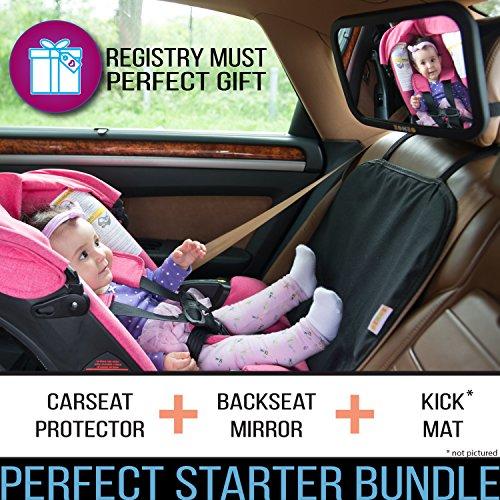 Zohzo Car Bundle Mirror Protector Kick Mat Posh Baby