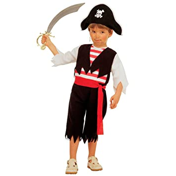 Enfants pirates costume déguisement de pirate costume enfant pirate corsaire XS 110 cm 3-4  sc 1 st  Amazon UK & Enfants pirates costume déguisement de pirate costume enfant pirate ...