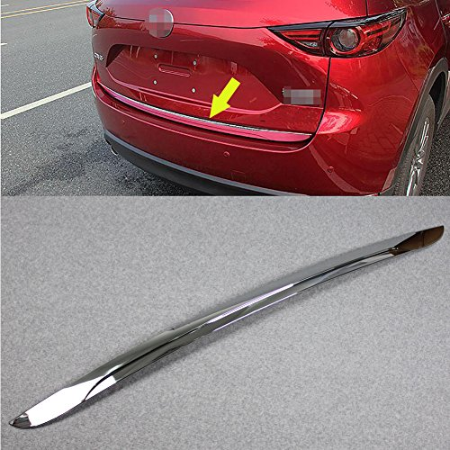 Fit for Mazda 2017 2018 2019 CX-5 CX5 Rear Hatch Door Trunk Lid Molding Trim Chrome