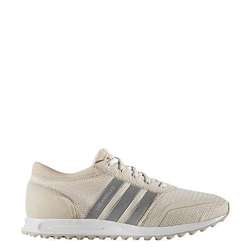 Zapatillas adidas - Los Angeles marrón/Plateado/Blanco: Amazon.es: Zapatos y complementos