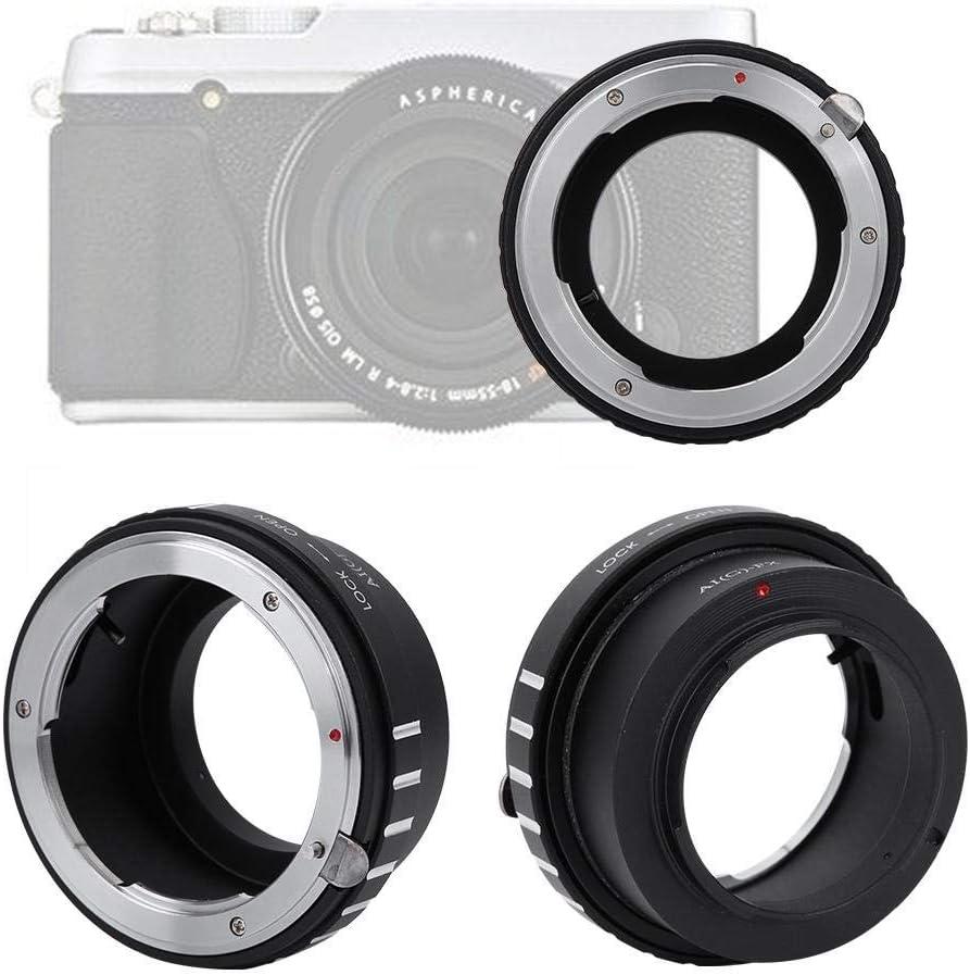 Durable Lens Adapter Ring for Nikon G Lens to Fit for Fuji X-PRO1//X-E1//X-E2 Mirrorless Camera Messa a Fuoco Manuale Regolazione Manuale V BESTLIFE Lens Adapter Ring for Camera