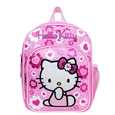 Mini Backpack - Hello Kitty - Pink Flower Bow New School Bag 84022 by Hello Kitty: Toys & Games
