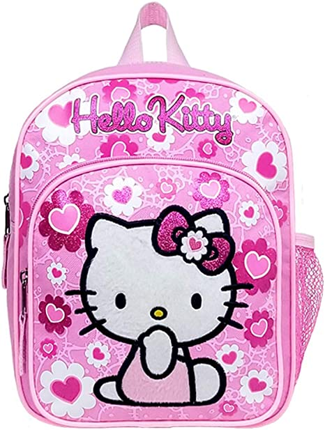 Hello Kitty Mini Backpack with Hood