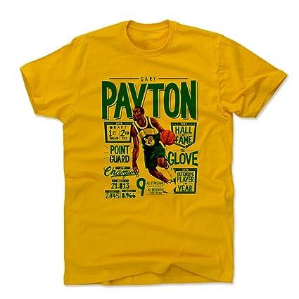 Amazon.com   500 LEVEL Gary Payton Shirt - Vintage Seattle ... 462c37914