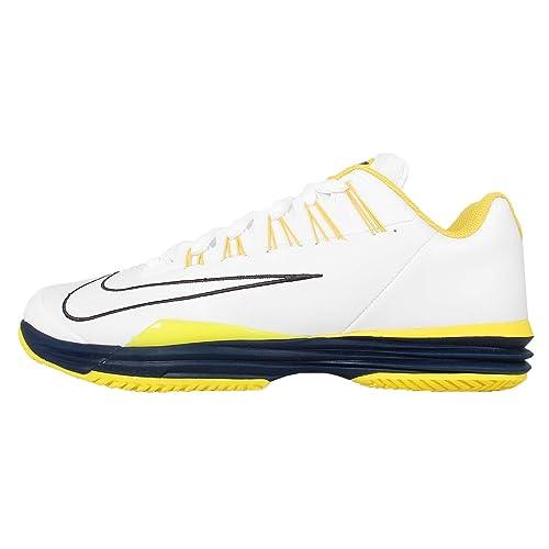 Nike Lunar Ballistec  Zapatillas de Tenis para Hombre Blanco