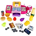 FunsLane Cash Register for Kids Pretend Play Toys