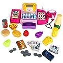 FunsLane Cash Register for Kids Pretend Play Toys
