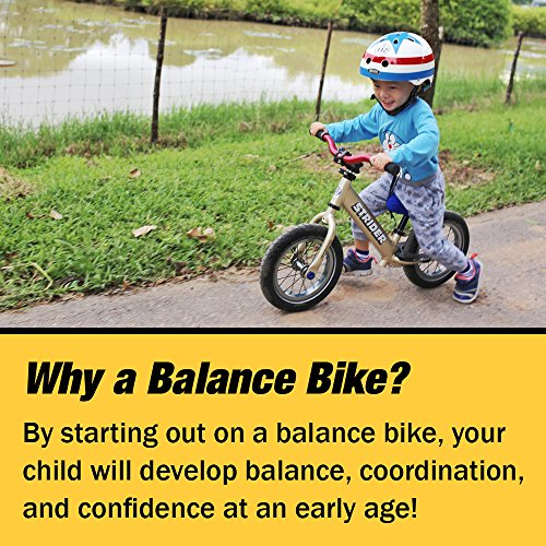 Strider - 12 Pro Balance Bike, Ages 18 Months to 5 Years, Silver by Strider (Image #3)