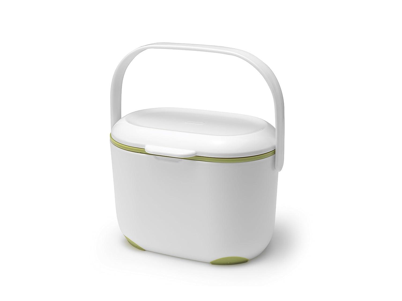 Addis Komposteimer für die Küche, 2,5 l, Weiß&nbsp ...