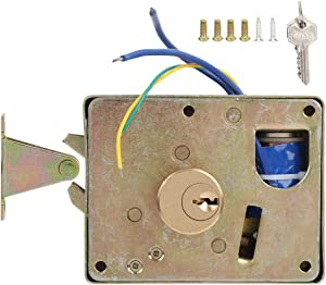 Rightward Unlo Home Security Device Drawer Lock, Intelligent Lock, Mechanical Keys Keys DC12V Smart security for Anti-theft