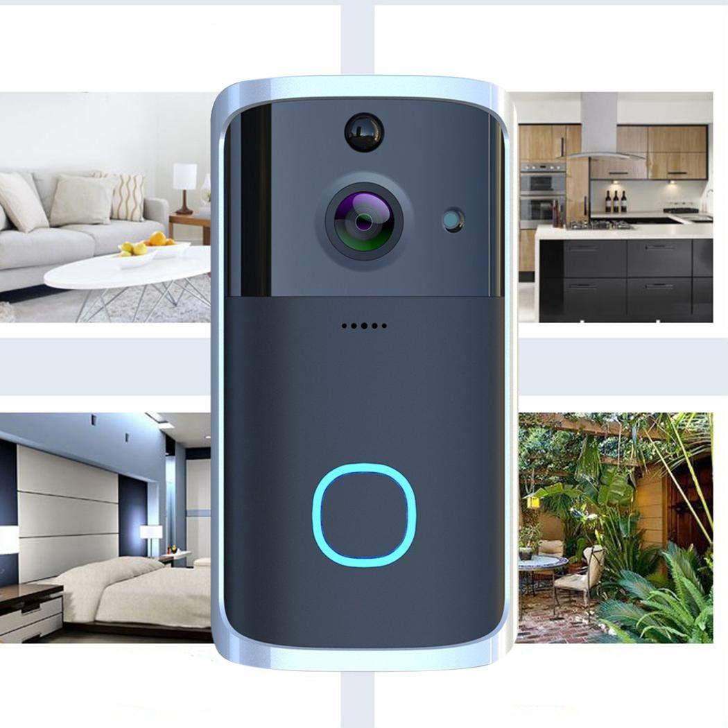 Erholi Visual WiFi Doorbell Intelligent Electronic Surveillance Camera Anti-Theft Household Kits