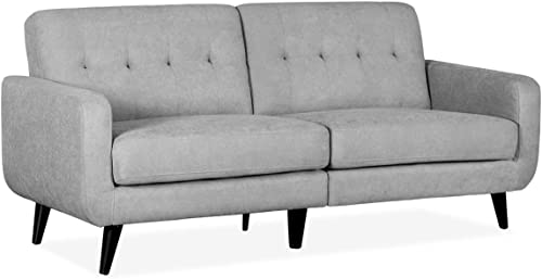 YOLENY Sofa Couch Loveseat Soft Fabric Modern Design Love Seat Two or Three Person Seat Sofa