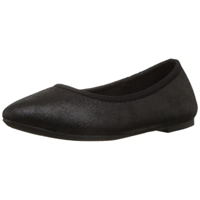 Skechers Women's Cleo Sincere Wide Ballet Flat, Black, 7.5 W US | Flats