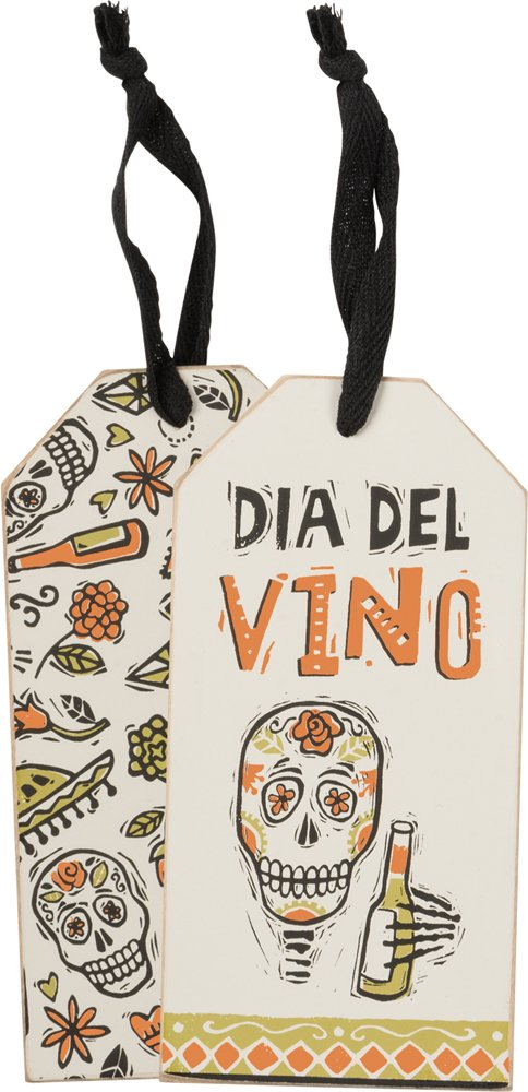 Bottle Tag - Dia De La Vino, Set of 3