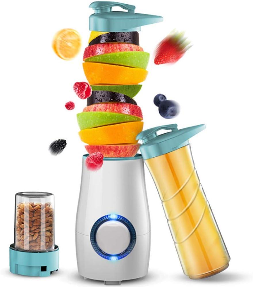 Mezclador De Frutas Personal Portátil Batidora Licuadora Máquina De Exprimidor, con Función Anti-Goteo