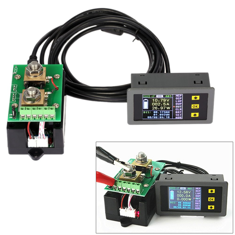 invitation wording for networking event%0A Amazon com  KKmoon DC Multifunctional Wireless Digital Bidirectional  Voltage Current Power Meter Ammeter Voltmeter Capacity Coulomb Counter   Automotive